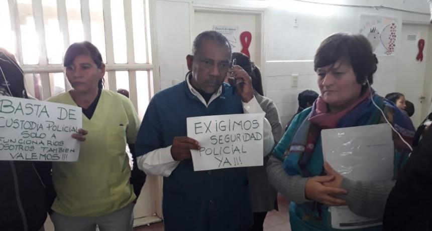 Continúan los hechos de violencia en el Centro de Salud de Villa Libertad