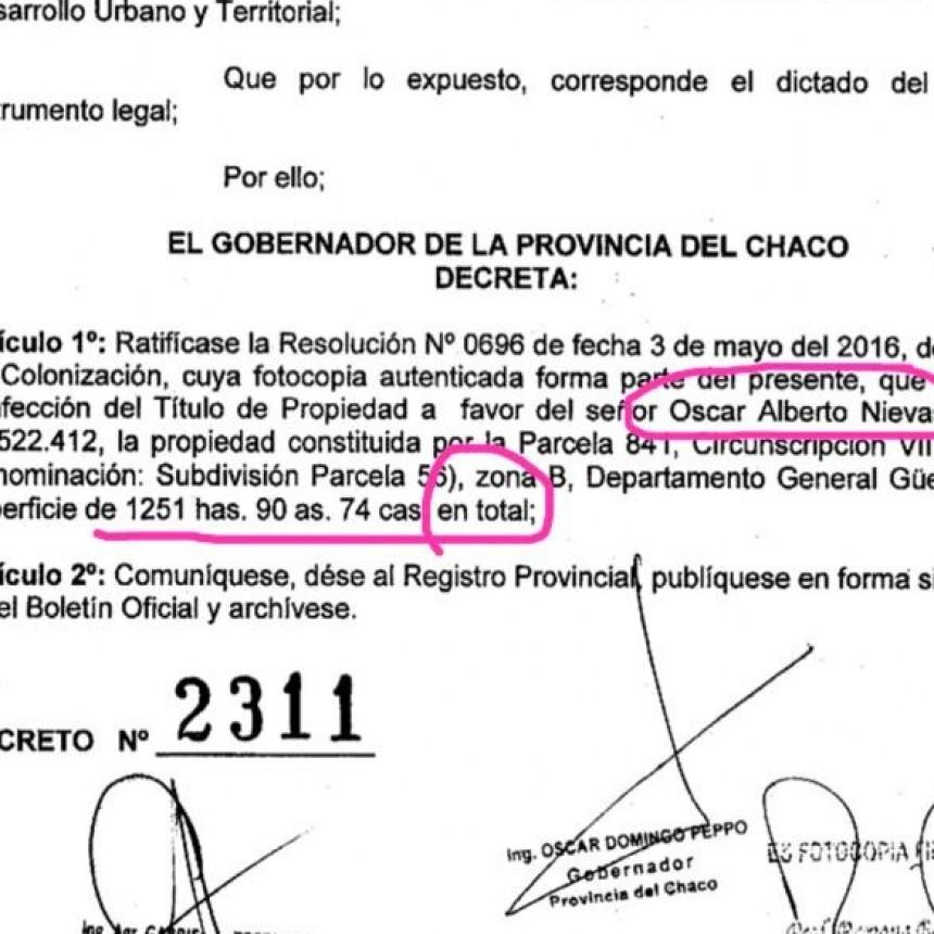 En el año 1999 solicite las tierras a Colonización cumplimentando como lo establece la ley.