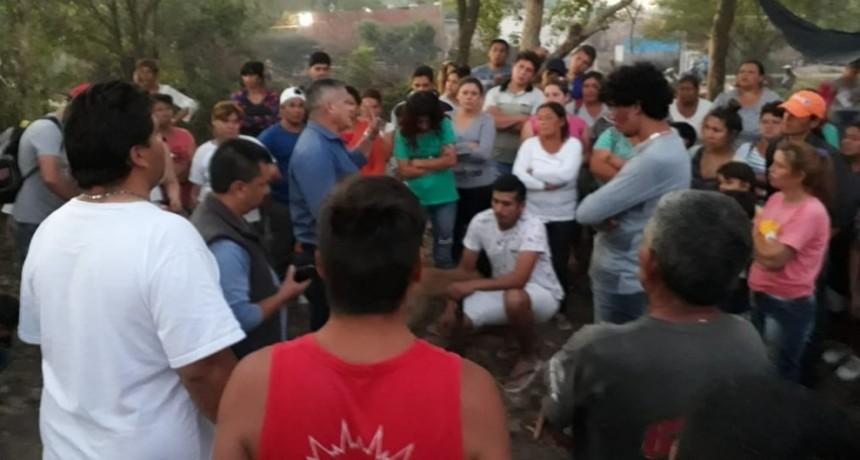 Más de 600 familias que no pertenecen a movimientos, ni cooperativas tomaron terrenos en la zona del Boquita Cortés y temen ser desalojados