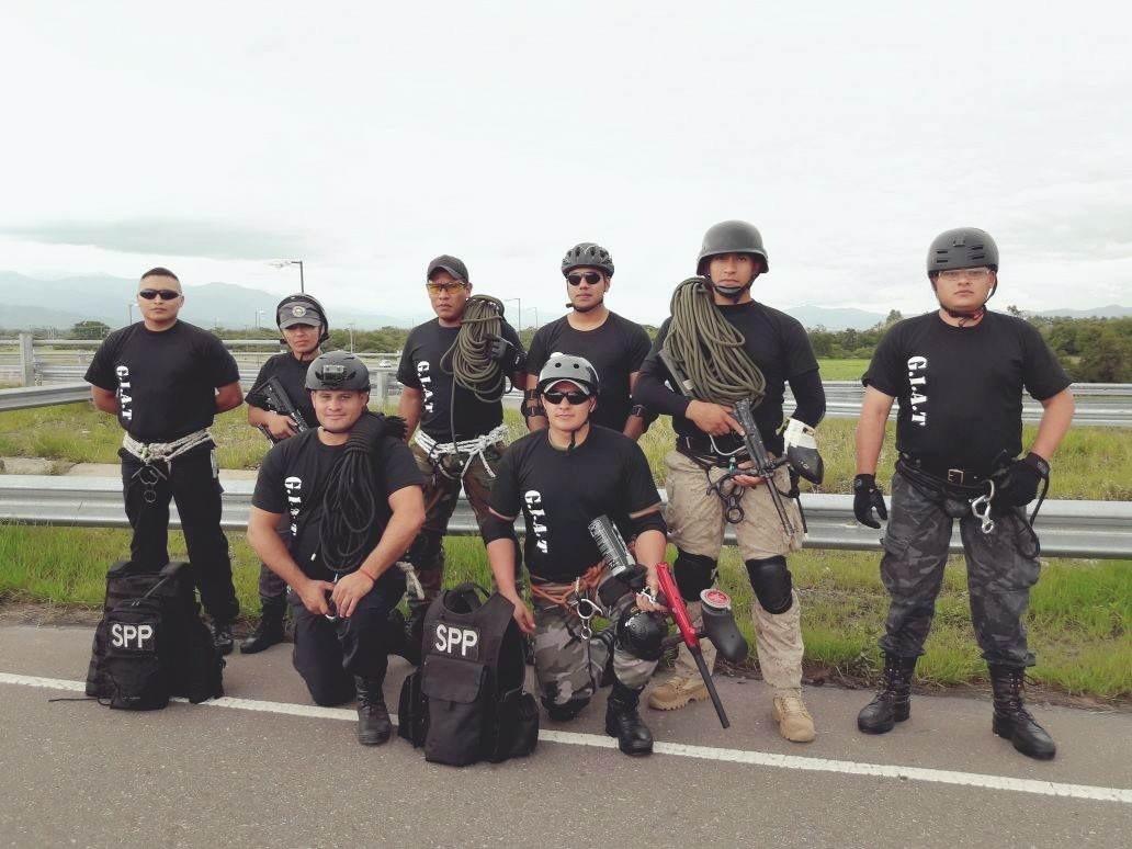 Penitenciarios del Chaco aprueban Curso Táctico y Técnica de Rescate