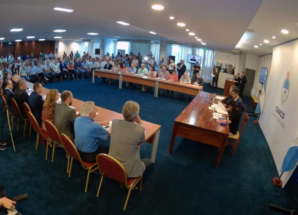 Legisladores respaldan el compromiso financiero - social firmado entre el Ejecutivo provincial y el Cones