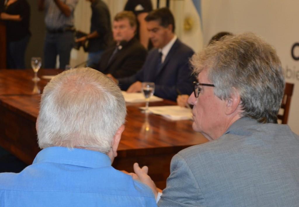 """Compromiso político, económico, social y cultural: """"Es un primer  paso de encuentro entre múltiples sectores"""", destacó Sager"""