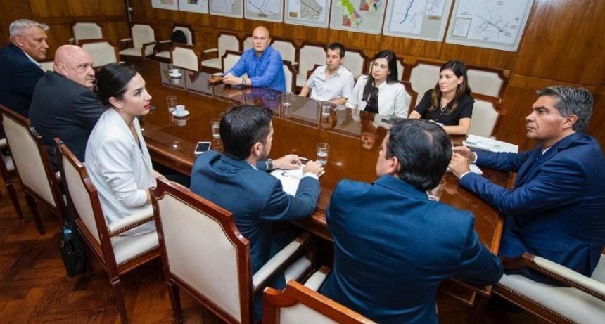 Capitanich trazó acciones conjuntas con directivos de la Cámara de Comercio