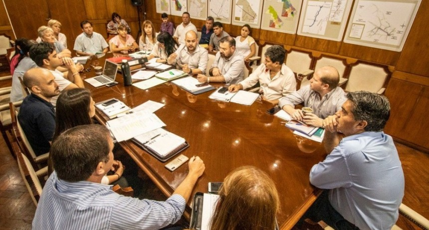 Gobierno y UPCP acordaron prioridades para atender la emergencia sanitaria