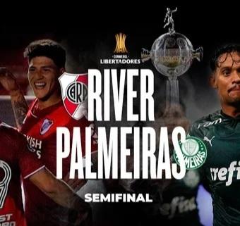 River recibe a Palmeiras por la primera semifinal de la Copa Libertadores
