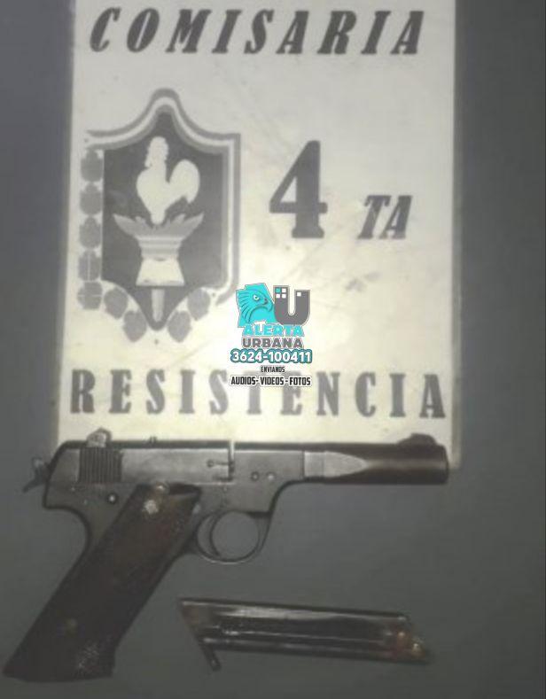 Resistencia: fueron detenidos con un arma de fuego