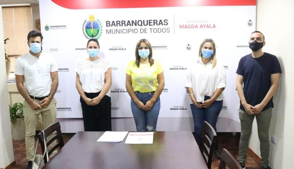 Hecho histórico: en Barranqueras se oficializó la nueva Secretaría de Discapacidad, promoviendo una ciudad inclusiva.