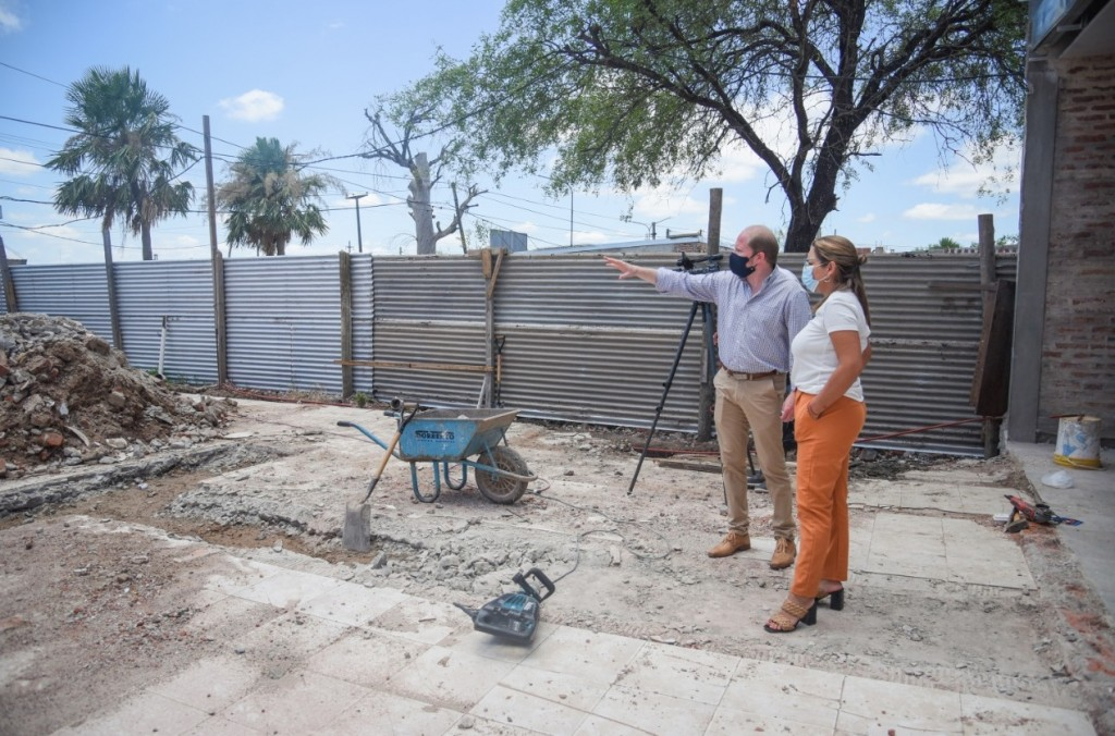 Barranqueras: iniciaron las obras de ampliación del registro civil