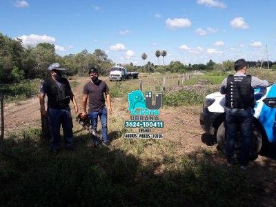 Machagai: 5 personas demoradas por realizar trabajos forestales ilegales