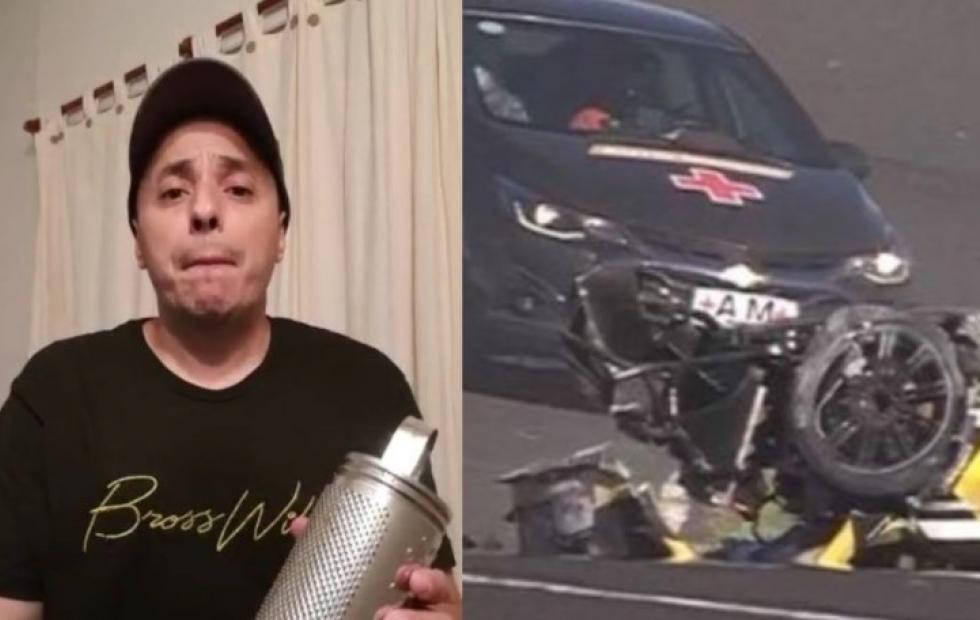 """""""El Dipy"""" protagonizó un brutal choque en el Top Race en Paraná"""