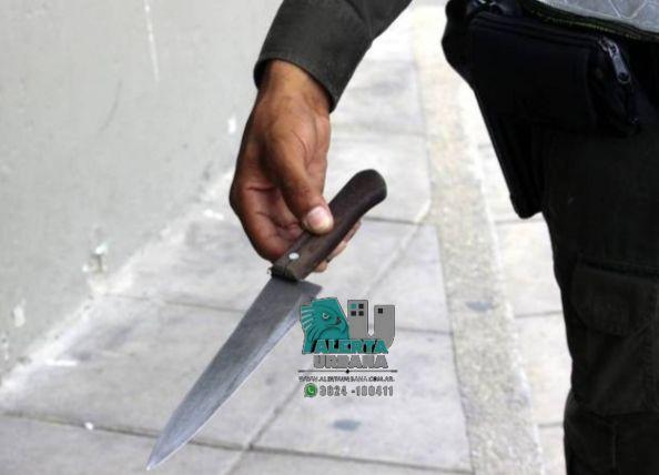 Charata: apuñalan a un joven