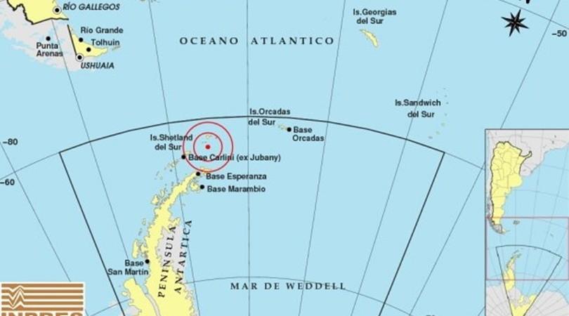 Falsa alarma: un sismo en la Antártida generó temor en Chile por un posible tsunami