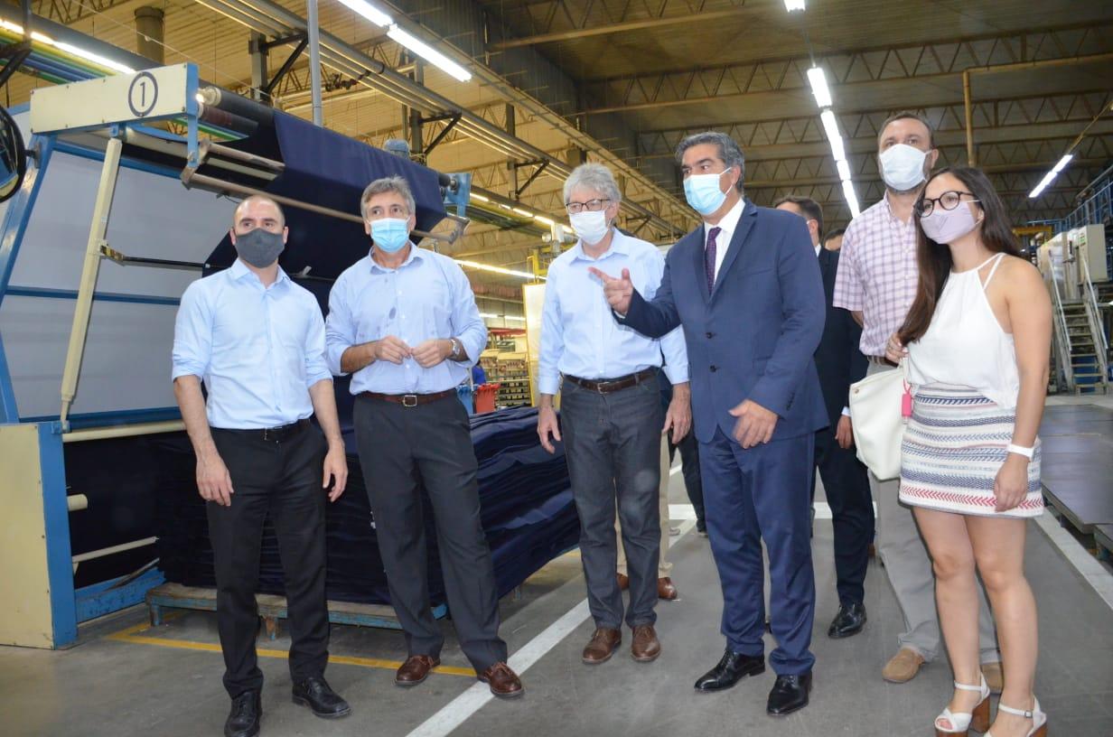 """Sager: """"Mostramos orgullosos el potencial textil y el camino de la reactivación para el Chaco y Argentina"""""""