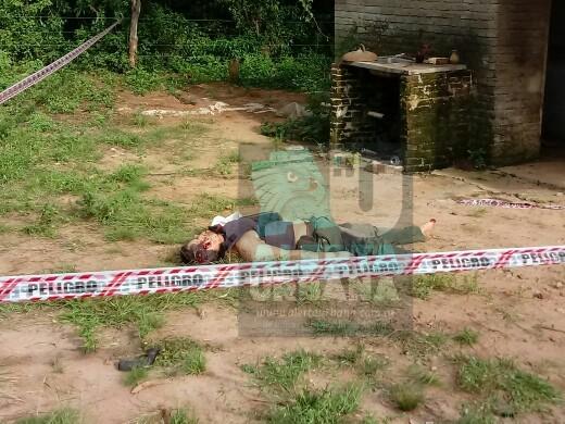 Tiroteo y muerte en la localidad de Alvear en la provincia de Corrientes