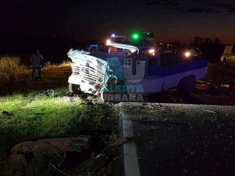 Accidente fatal en Ruta 95  km. 1119 de Sáenz Peña