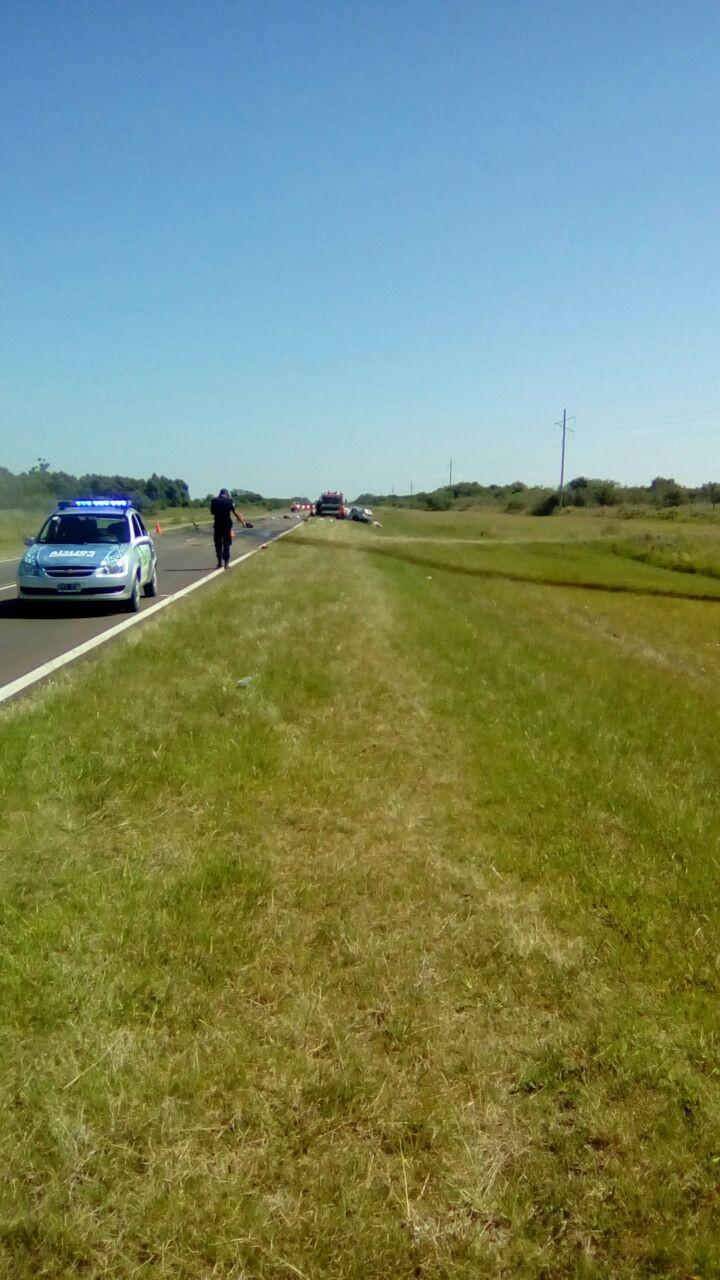 Accidente fatal en San Roque, con tres víctimas fatales