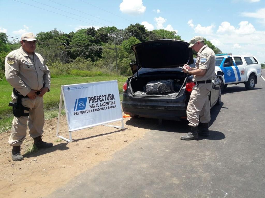 """Operativo """"24 horas"""": en ese lapso, se decomisaron más de 1.200 kilos de marihuana en Corrientes"""