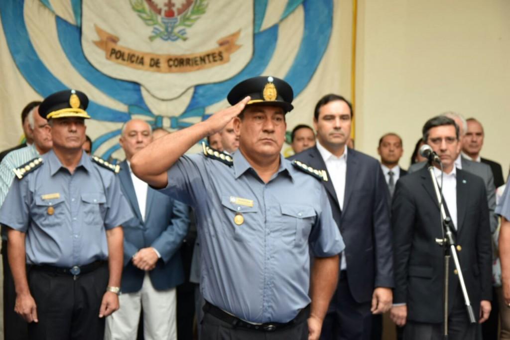 Asumió Félix Barbosa como Jefe de la Policía de Corrientes