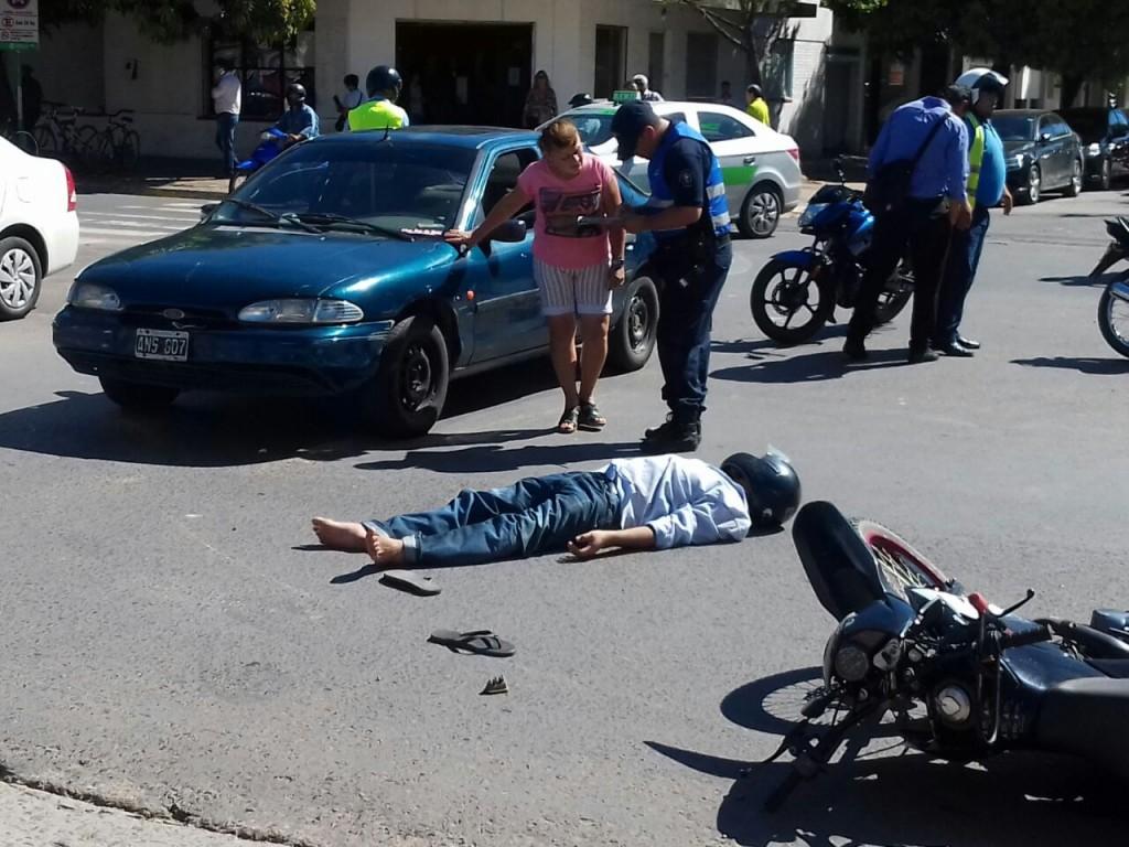 El accidente de tránsito de cada día