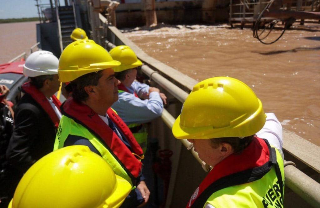 Avanzan las gestiones para el dragado del Riacho Barranqueras