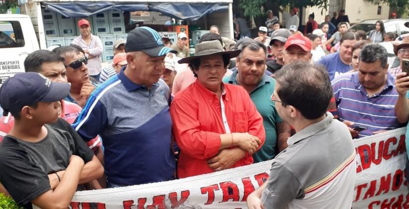 """Tito López: """"Queremos que nos paguen los trabajos realizados, no estamos pidiendo nada nuevo"""""""