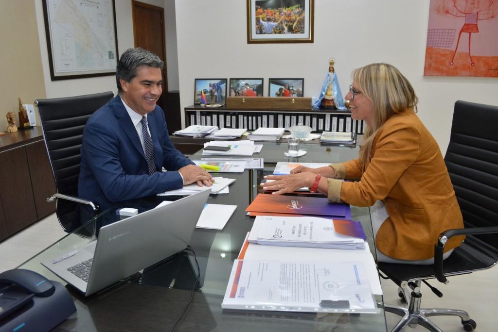 Chomiak se reunió con Capitanich y Ministros para seguir definiendo acciones para Charata