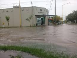 Santa Silvina también resultó afectada por el temporal del pasado fin de semana