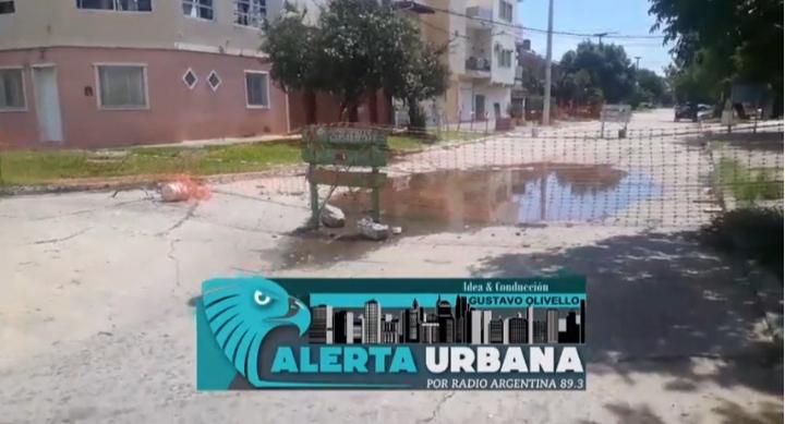 Barrio Villa Cortés: vecinos reclaman el arreglo del pavimento sobre calle La Cangaye