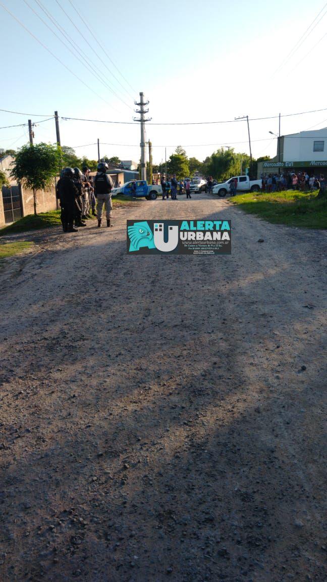 Desorden en la vía Pública dejó como saldo tres heridos con arma de fuego