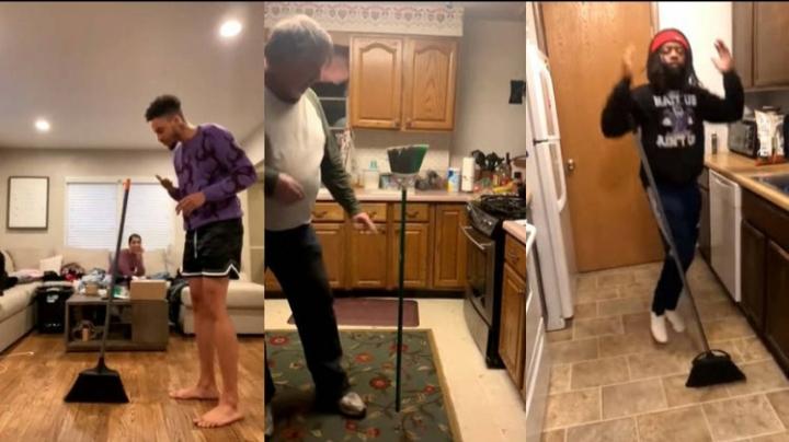El nuevo reto viral que triunfa (y engaña) en internet: poner escobas de pie sin ayuda