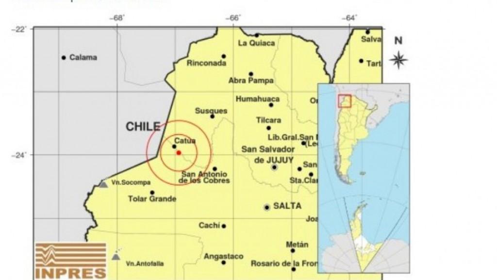 Temblor en Salta: hubo una réplica a la madrugada