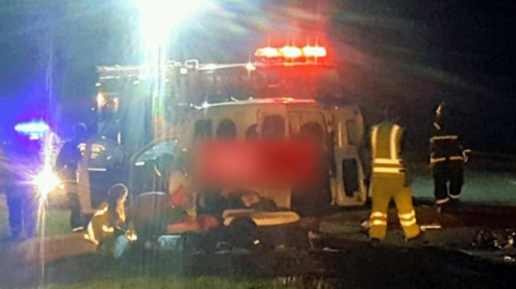 Un nene de 11 años murió en un accidente en la Ruta 2 y otras 6 personas resultaron heridas