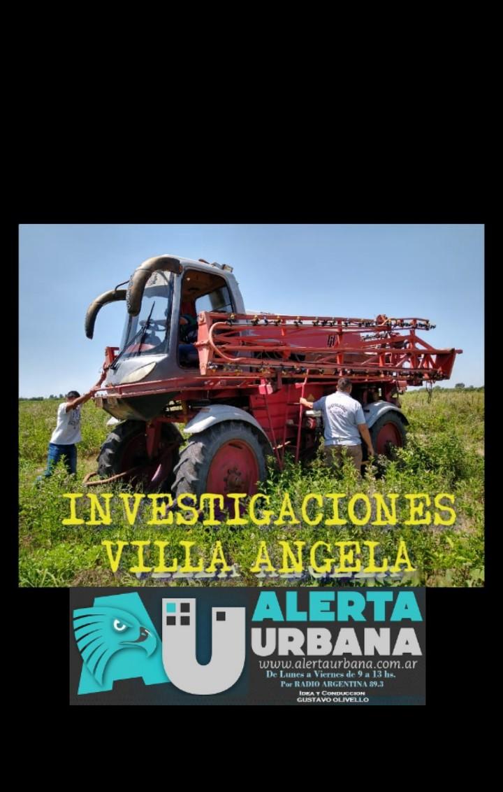 Villa Angela: División Investigaciones Complejas recuperan mosquito fumigador.