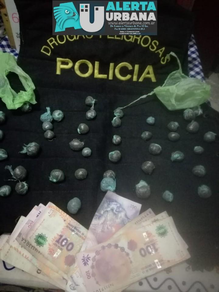 Sáenz Peña: Allanamientos en simultáneo dejó cuatro detenidos y el secuestro de sustancias ilícitas.