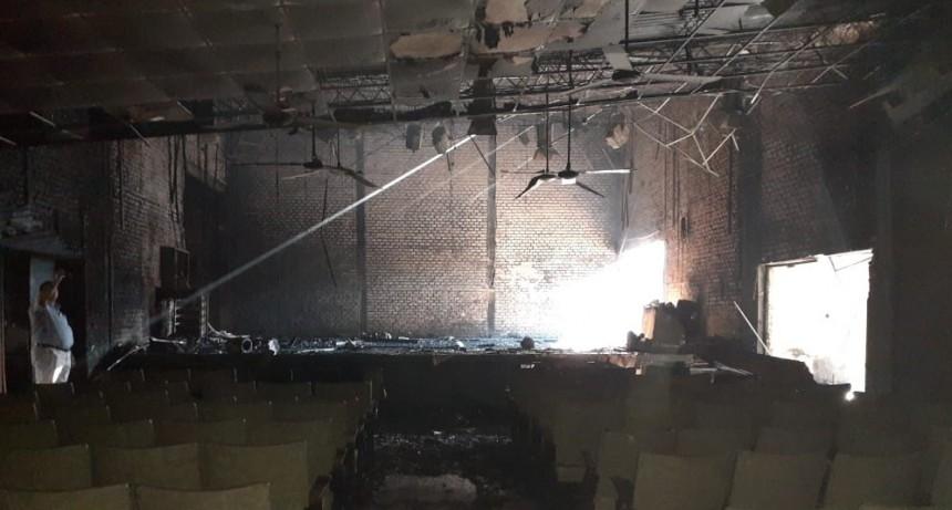 Sala 88: Sager se solidarizó con el elenco y sumó su respaldo para la reconstrucción del edificio