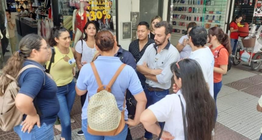 Defensa del Consumidor salió a la peatonal de Resistencia a efectuar controles a comercios