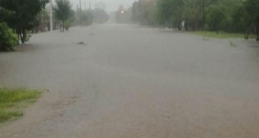 """Charata: """"no estaba previsto la magnitud, ni la rapidez del temporal"""""""
