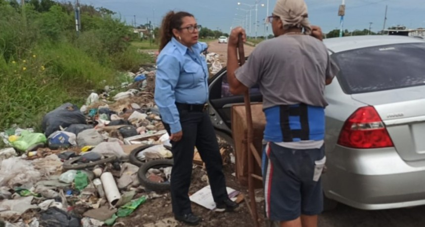 El municipio continúa ejerciendo controles para la eliminación de minibasurales y detectando infractores