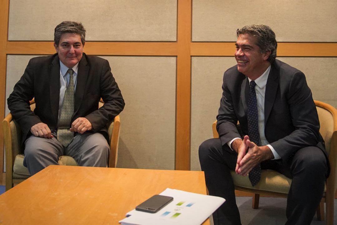 Ante Nacion, Capitanich gestionó financiamiento para el desarrollo energético del Chaco.