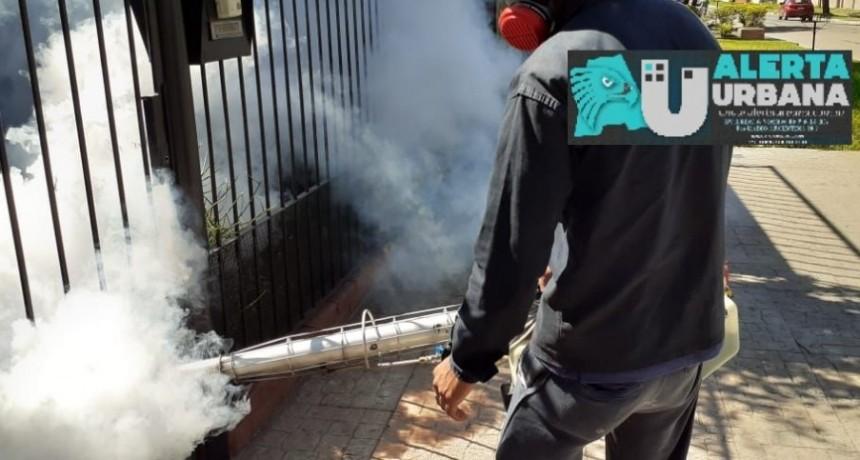 Gran Operativo de fumigación contra el Dengue