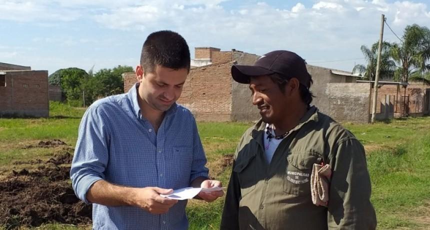 Sáenz Peña: el intendente Bruno Cipolini anunció un aumento salarial para empleados municipales