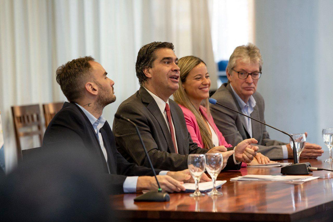Capitanich proyectó una inversion de 15 mil millones de pesos en obras públicas para el 2020