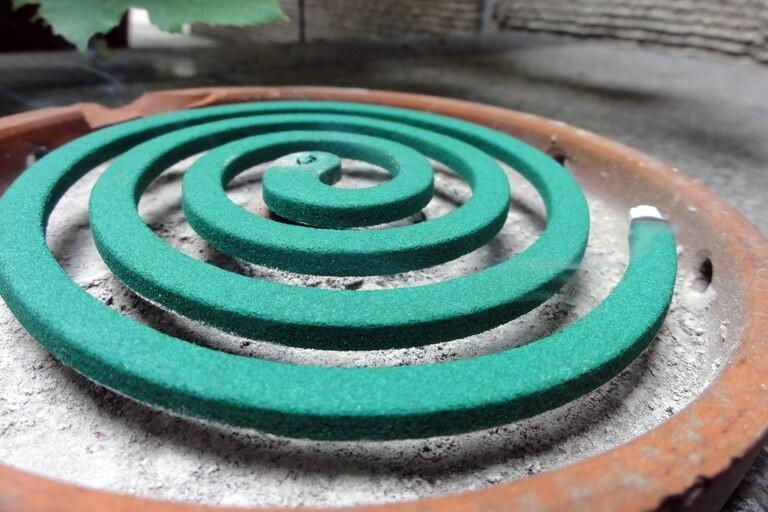 El primer enemigo de los mosquitos: la curiosa historia del espiral