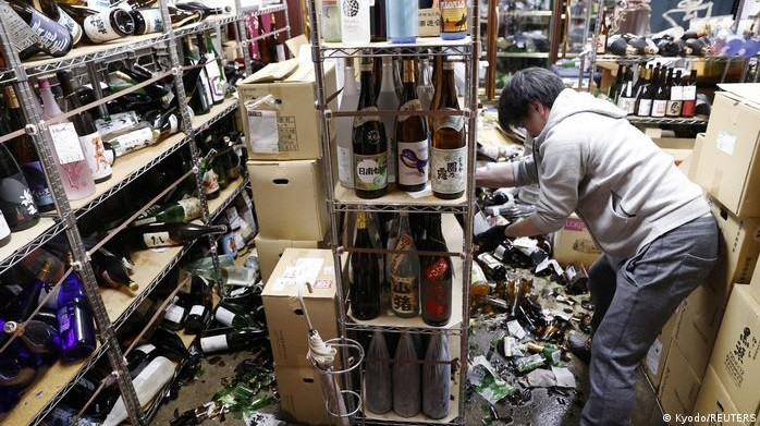 Fuerte sismo de magnitud 7,3 sacude a Fukushima