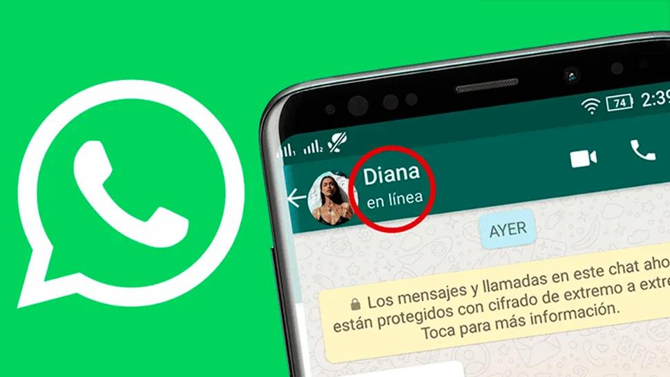 WhatsApp: cómo saber si alguien está en línea sin entrar a su chat