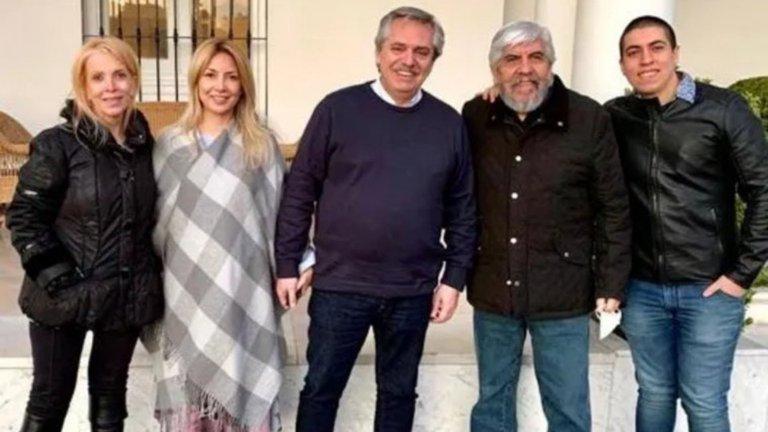 """Hugo Moyano: """"Me vacuné con mi mujer y mi hijo menor"""
