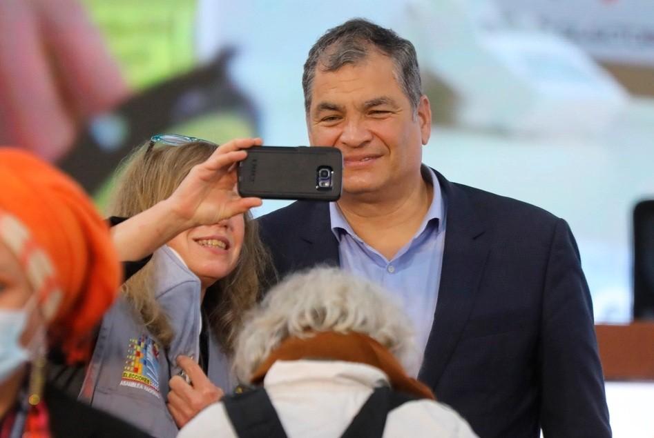 Rafael Correa denunció