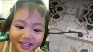 Murió un nene de 2 años electrocutado tras meter una cuchara en un enchufe