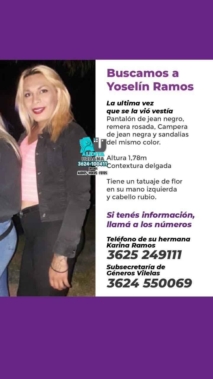Puerto Vilelas: Se busca el paradero de Yoselin Ramos