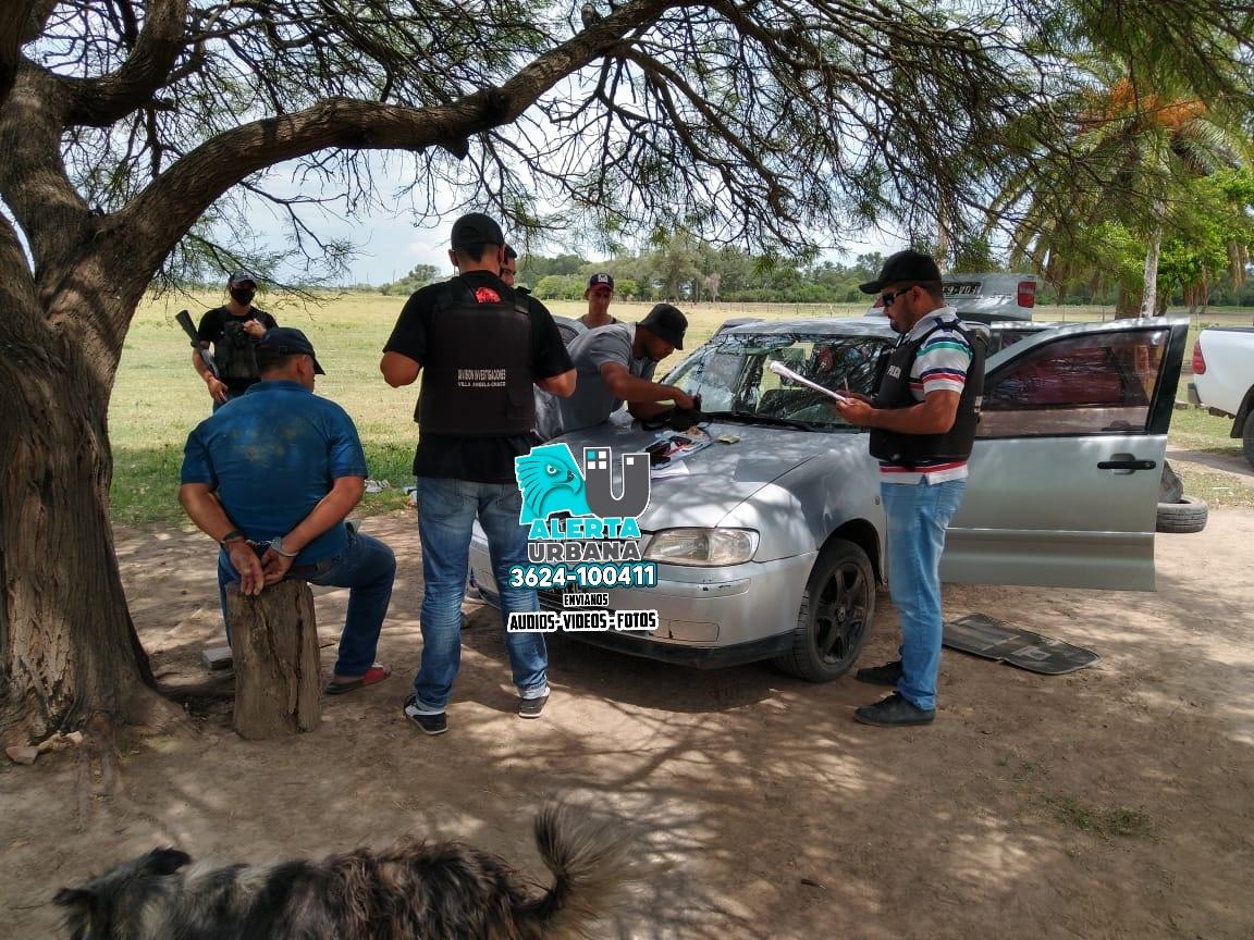 Recuperan dinero, vehículos, y logran la aprehensión de un expolicía implicado